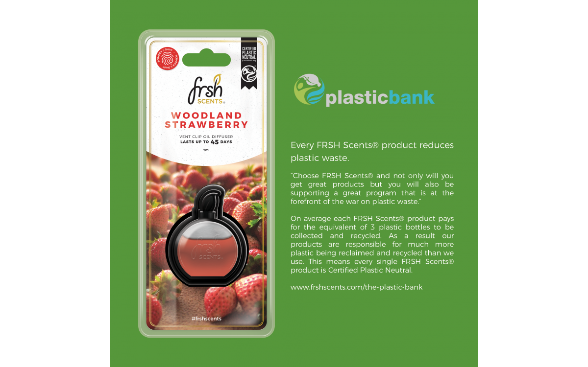 FRSH Scents & The Plastic Bank