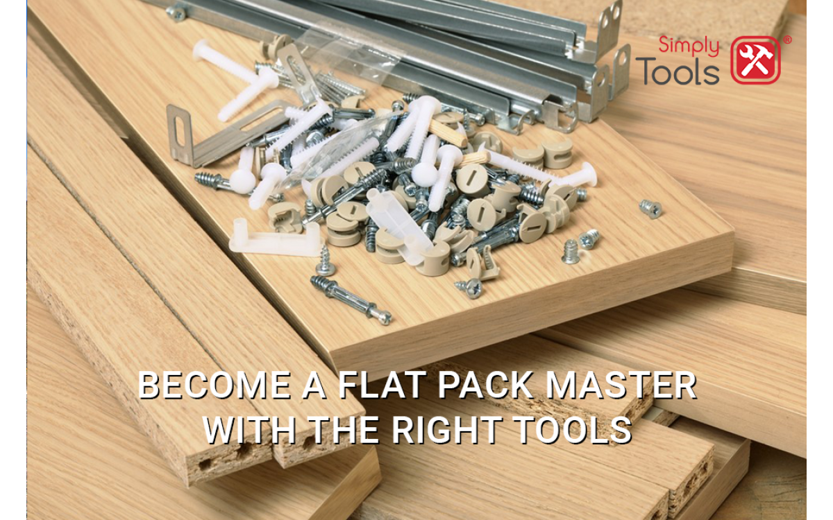 The Simply guide to becoming the DIY and flat pack pro everyone wants to know
