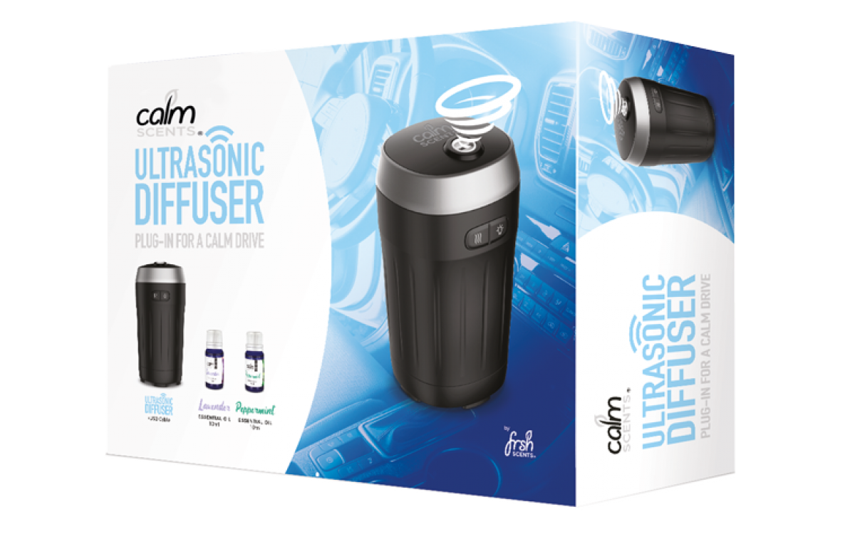 PRESS RELEASE - JRP Distribution showcase a modern approach to in car air freshening with the Calm S