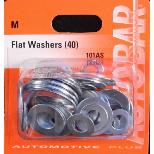 FLAT WASHERS ASSORTED 40