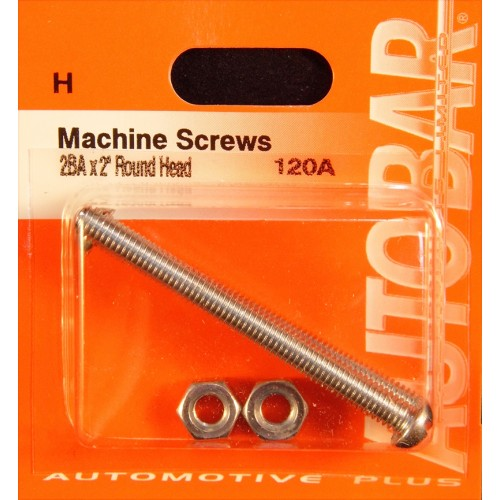 MACHINE SCREWS 2BA X 2 - [10]