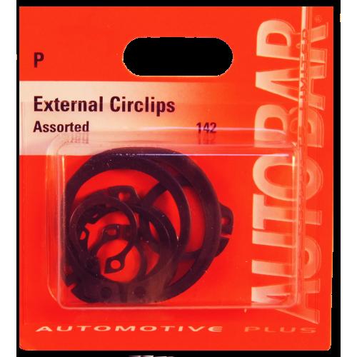 EXTERNAL CIRCLIPS ASSORTED