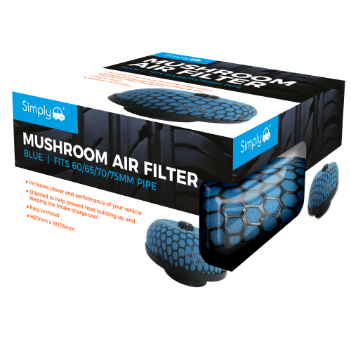 BLUE MUSHROOM AIR FILTER