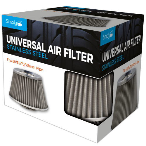 STAINLESS STEEL AND STAINLESS MESH AIR FILTER