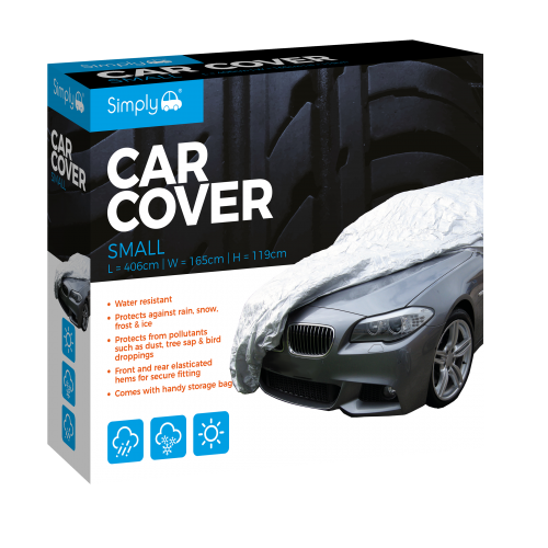 'S' WATER RESISTANT CAR COVER