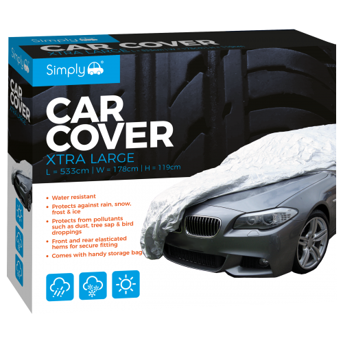 'XL' WATER RESISTANT CAR COVER