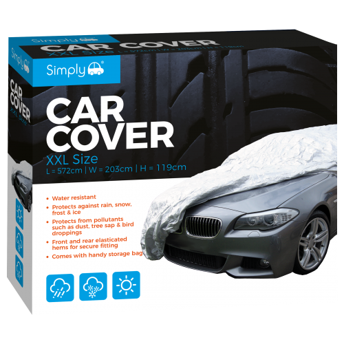 'XXL' WATER RESISTANT CAR COVER