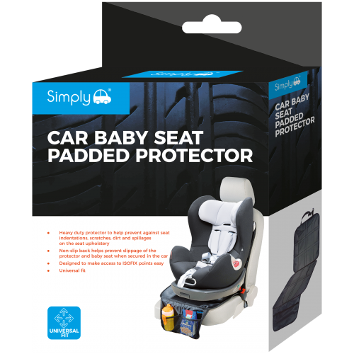 CAR BABY SEAT PADDED PROTECTOR