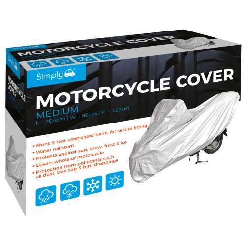 'M' MOTORCYCLE COVER
