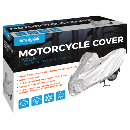 'L' MOTORCYCLE COVER