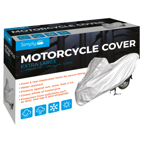 'XL' MOTORCYCLE COVER