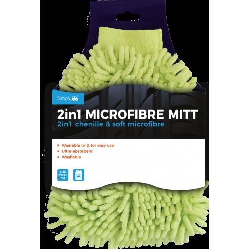 2-1 MICROFIBRE MITT