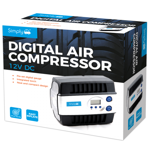 DIGITAL AIR COMPRESSOR - 3:30