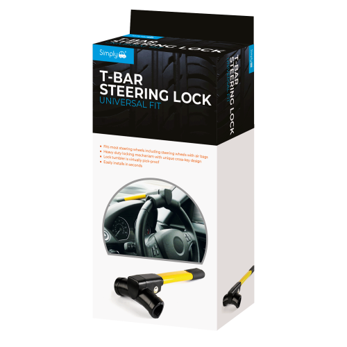 T-BAR STEERING LOCK